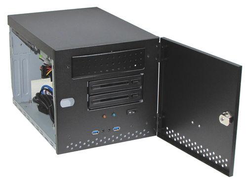 case per PC a muro / compatto / 21 slot / industriale