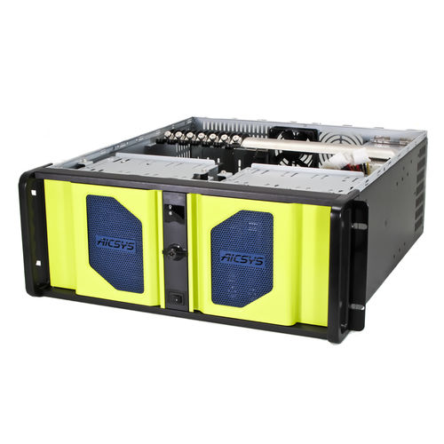PC server / all-in-one / per rack / USB RCK-408 AICSYS Inc