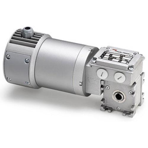 motoriduttore elettrico DC / ad assi ortogonali / a vite senza fine / a magnete permanente