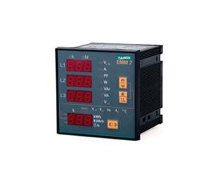 multimetro digitale / montato su pannello / true RMS / industriale