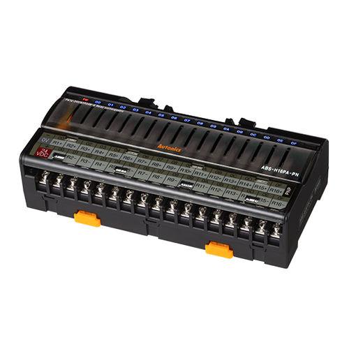 morsetto componibile per relè / con connessione a vite / su guida DIN / per modulo I/O