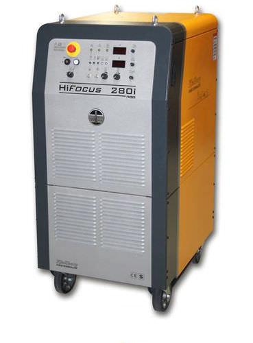 Generatore di corrente per taglio al plasma CNC / inverter / per il taglio di metalli / per taglio al plasma HiFocus 280i neo Kjellberg Finsterwalde