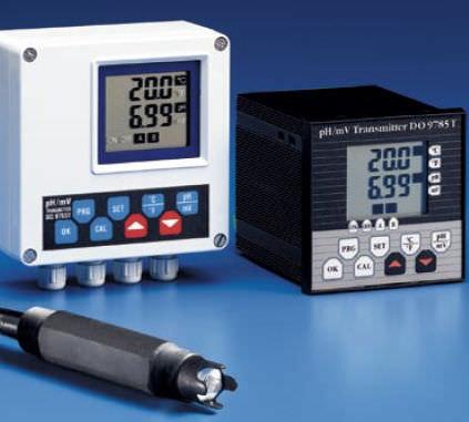 pHmetro fisso / di processo / con display LCD / con termometro