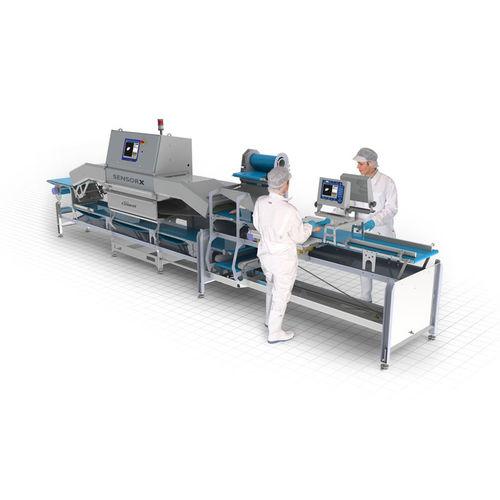 Rivelatore di particelle / di ispezione / per prodotti alimentari SensorX Poultry Marel France