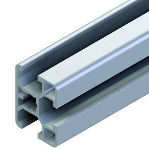 profilato in alluminio / con scanalature / leggero / estruso