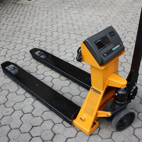transpallet manuale / idraulico / pesatore