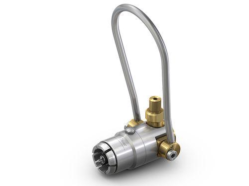 raccordo push-to-lock / dritto / pneumatico / in ottone