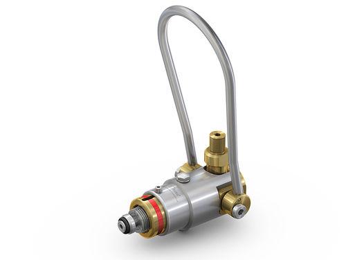 Raccordo push-to-lock / dritto / pneumatico / in ottone WEH® TW54 WEH GmbH