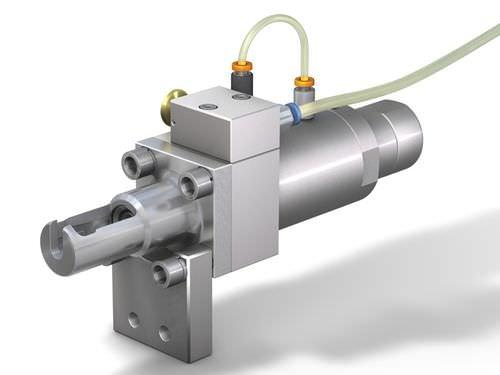 Raccordo rapido / dritto / pneumatico / con azionamento pneumatico WEH® TW130  WEH GmbH