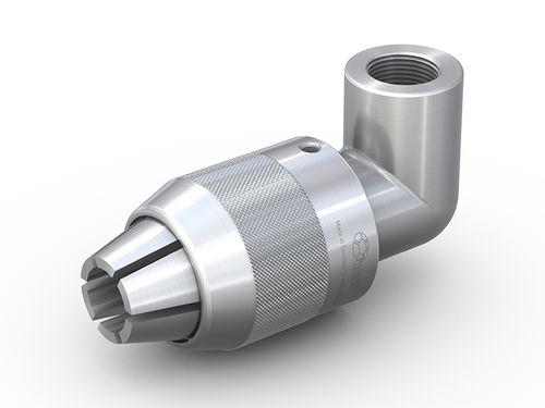 raccordo rapido / a gomito / pneumatico / in acciaio inox