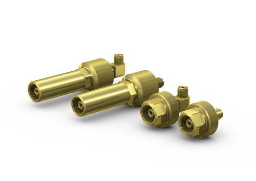 Raccordo ad avvitamento / dritto / pneumatico / di riempimento WEH® TW67 WEH GmbH