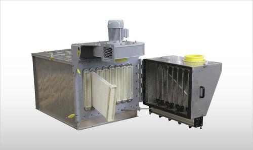 filtro ad aria / raccoglitore / compatto / per depolverizzatore
