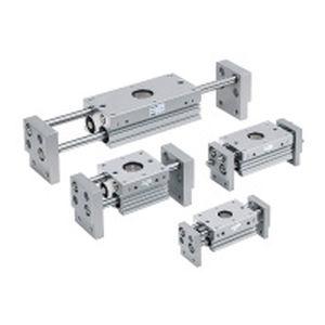 pinza di presa pneumatica / parallela / a 2 griffe / compatta