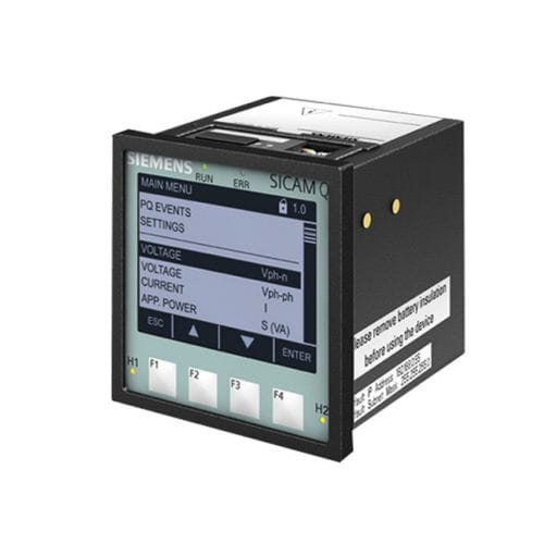 apparecchio di misura di tensione / di corrente / di frequenza / di qualità di energia