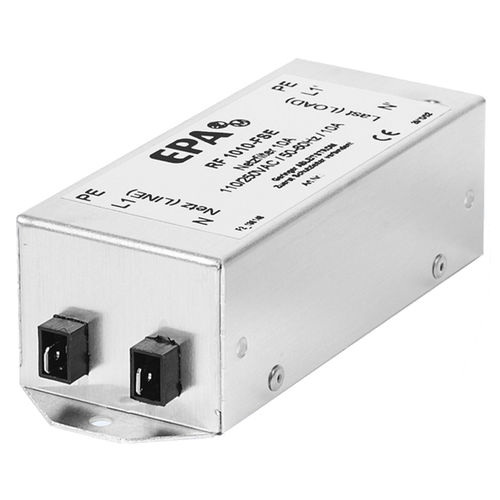 filtro elettronico passa-basso / passivo / RFI / monofase