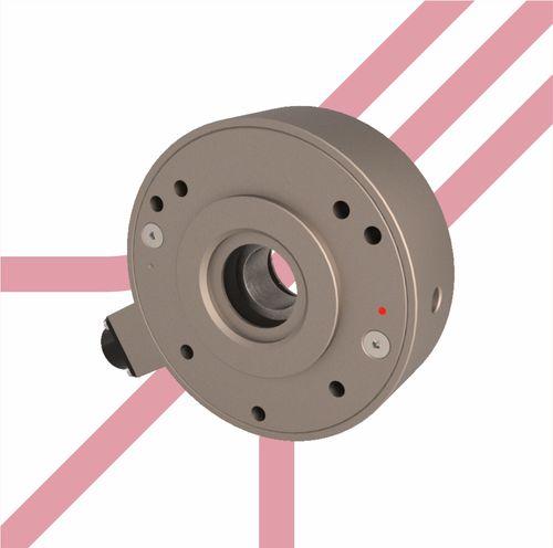 cella di carico a trazione / a forma di ciambella / compatta / ad alta precisione