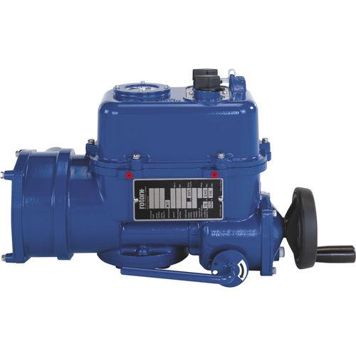 attuatore per valvola elettromeccanico / a frazione di giro / compatto / robusto