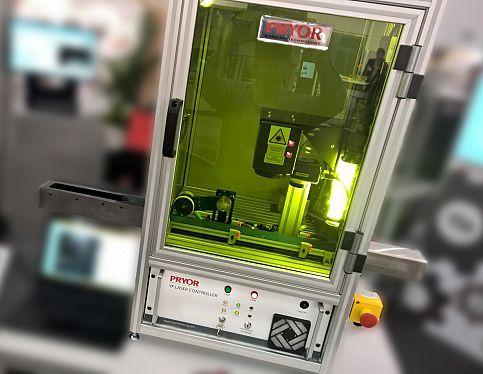 macchina di marcatura laser / benchtop / per metallo / per plastica