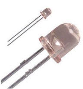 LED colorato / rotondo / in subminiatura / ad inserimento