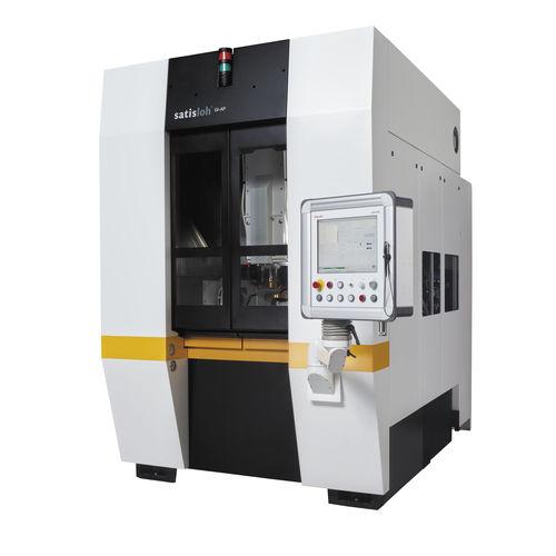 macchina lucidatrice per vetro / per ottica di precisione / CNC / 5 assi