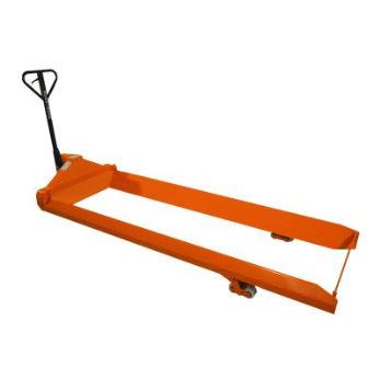 transpallet idraulico / ribassato / a forca lunga / per sollevamento