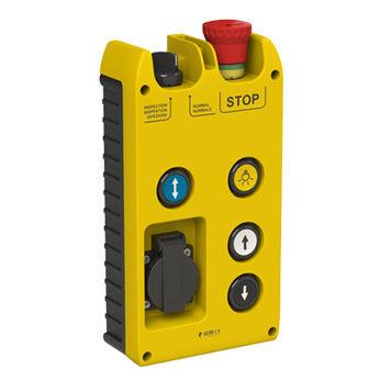 pulsantiera per ascensore / di arresto di emergenza