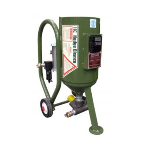 Sabbiatrice a pressione / mobile / manuale 1028NC Hodge Clemco