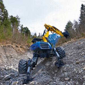 Escavatore di medie dimensioni / ragno / gommato / diesel S10 / S12 series KAISER AG Fahrzeugwerk