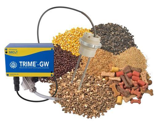 misuratore di umidità per cereali / per misura di resistività / in linea