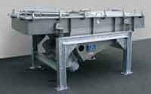Vaglio a vibrazione lineare / per prodotti sfusi / in acciaio inossidabile SR series Vibra Schultheis