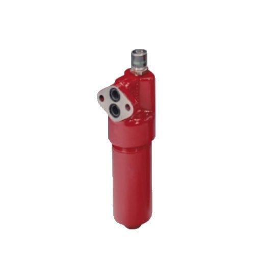 filtro di pressione / idraulico / in maglia metallica / con montaggio a flangia