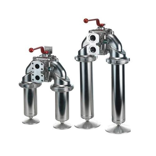 filtro idraulico / a cestello doppio / in linea / compatto