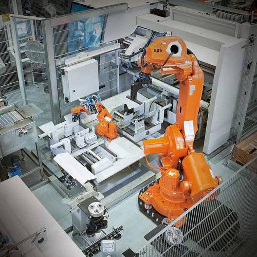 Robot antropomorfo / per movimentazione / di pallettizzazione / di carico sort KASTO Maschinenbau GmbH & Co. KG