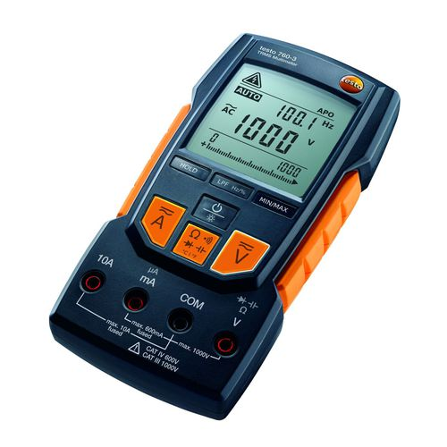 Multimetro digitale / portatile / 1000 V / 10 A testo 760-3 TESTO