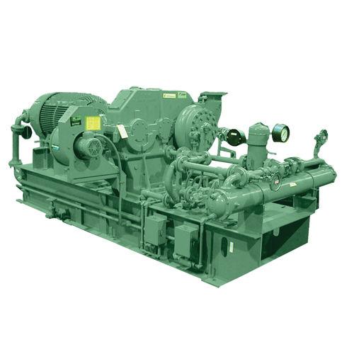 compressore d'aria / di gas / fisso / con motore elettrico