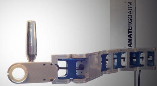 braccio manipolatore per utensili / autobilanciante / su colonne / ergonomico