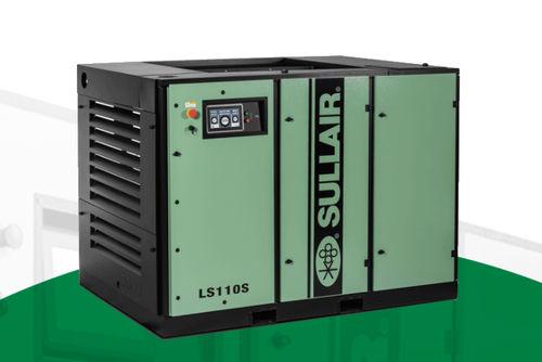 compressore d'aria / trasportabile / con motore elettrico / a vite