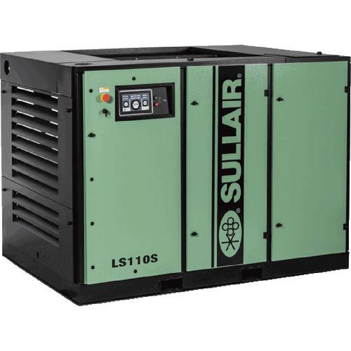 compressore d'aria / stazionario / con motore elettrico / a vite