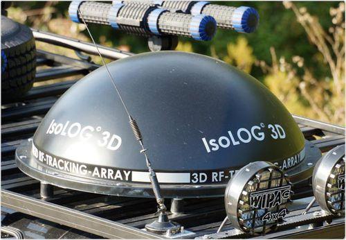 antenna con sistema di inseguimento / radio / 3D / isotropa