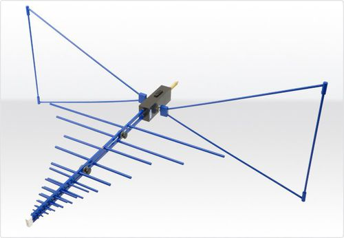 antenna radio / biconica / a log periodico / ibrida