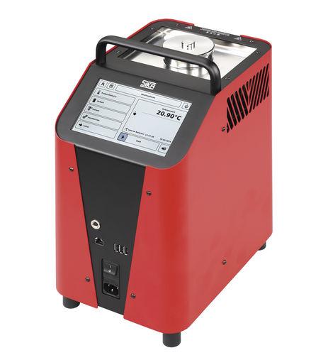 calibratore di temperatura / per sensore di temperatura / per pirometro a infrarossi / portatile