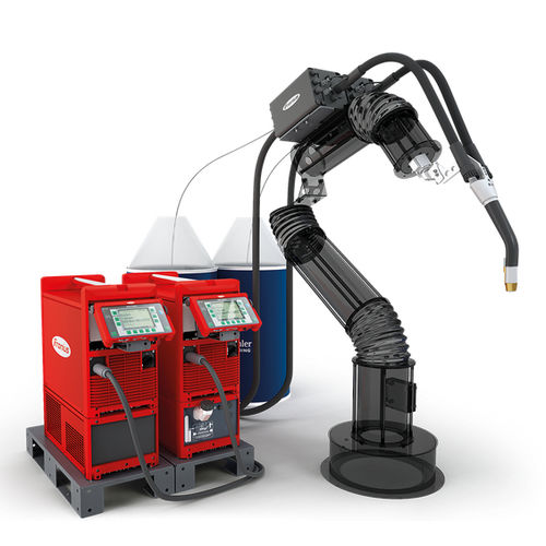 robot articolato / di saldatura MIG-MAG / ad alta velocità / industriale