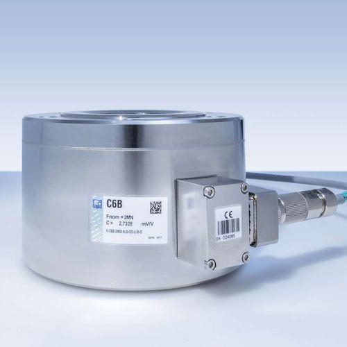 trasduttore di forza a compressione / incapsulato / rinforzato / per ponte estensimetrico