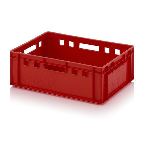 Cassetta in plastica / di stoccaggio / per trasporto pesante / per prodotti alimentari E2 AUER Packaging GmbH