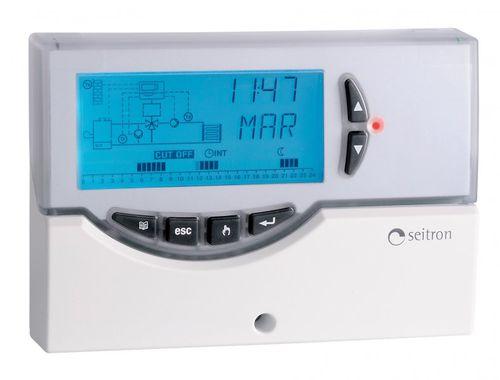 regolatore di temperatura digitale / con display LCD / per fluidi / per riscaldamento a pavimento
