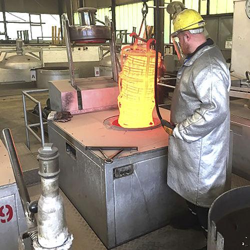 bagno fluidizzato per trattamento termico - SCHWING Technologies GmbH