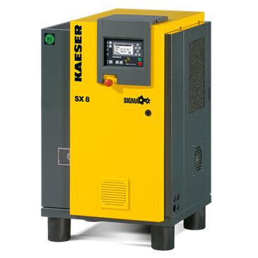 compressore d'aria / fisso / con motore elettrico / a vite