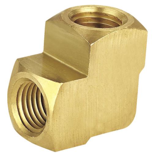 raccordo filettato / a gomito / idraulico / pneumatico