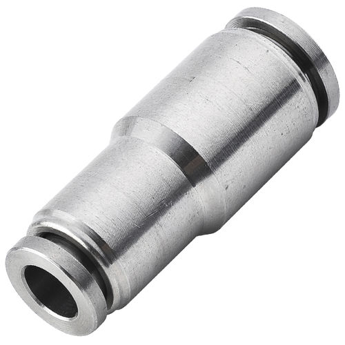 raccordo push-in / push-to-lock / dritto / pneumatico