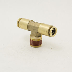raccordo push-in / a T / pneumatico / in ottone
